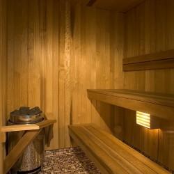 Sauna de l'hôtel